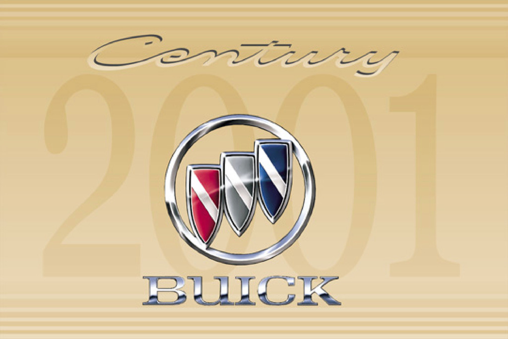 2001 Buick Century owners manual