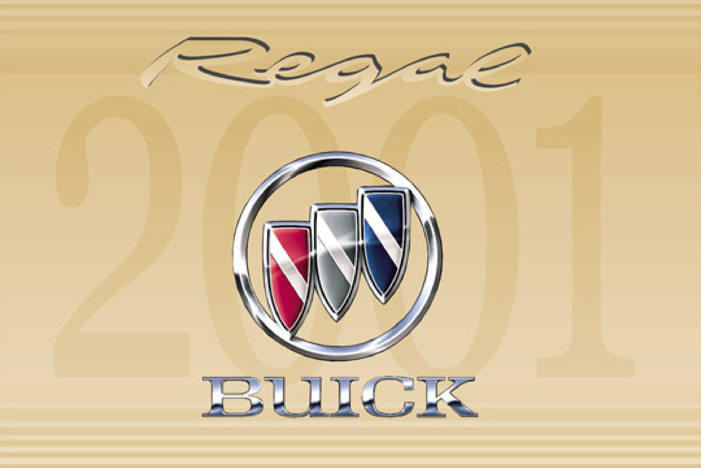 2001 Buick Regal owners manual