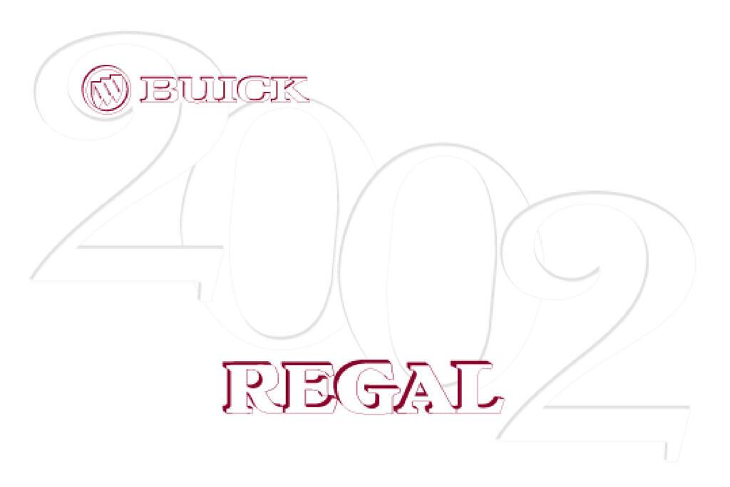 2002 Buick Regal owners manual