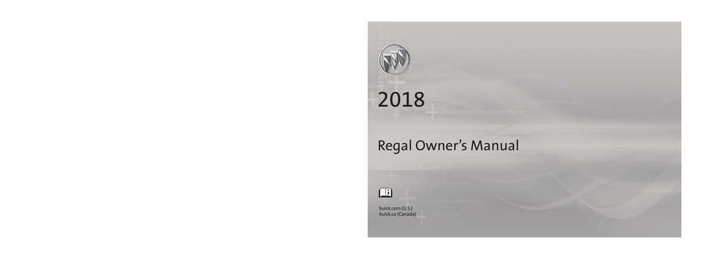 2018 Buick Regal owners manual