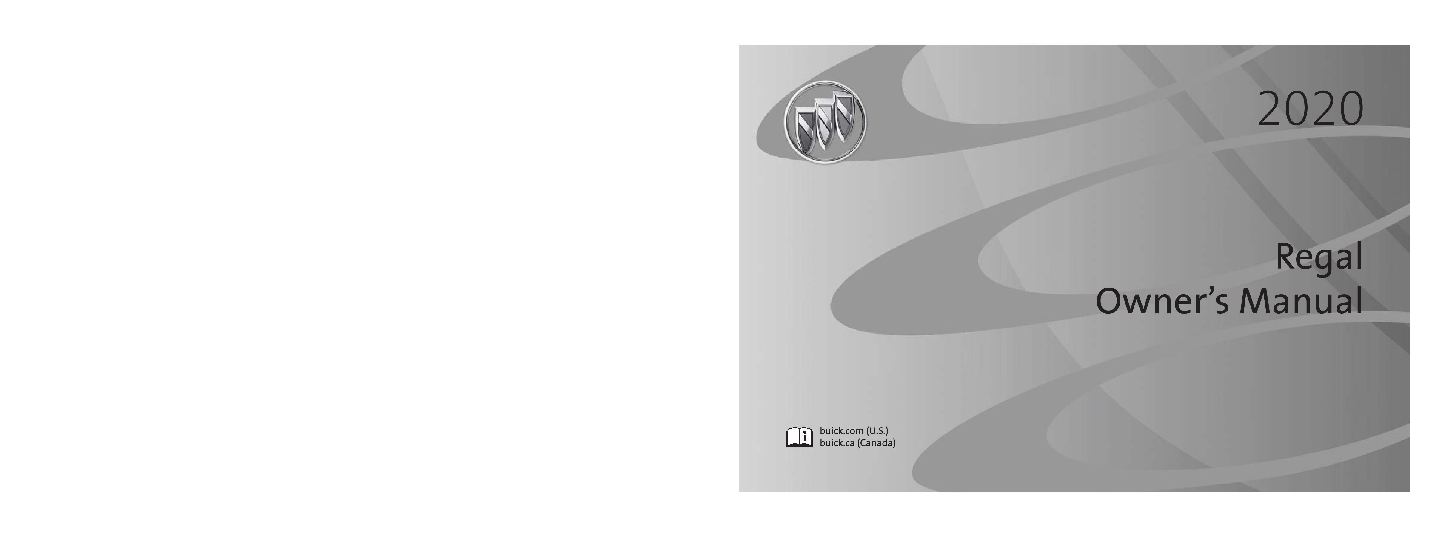 2020 Buick Regal owners manual