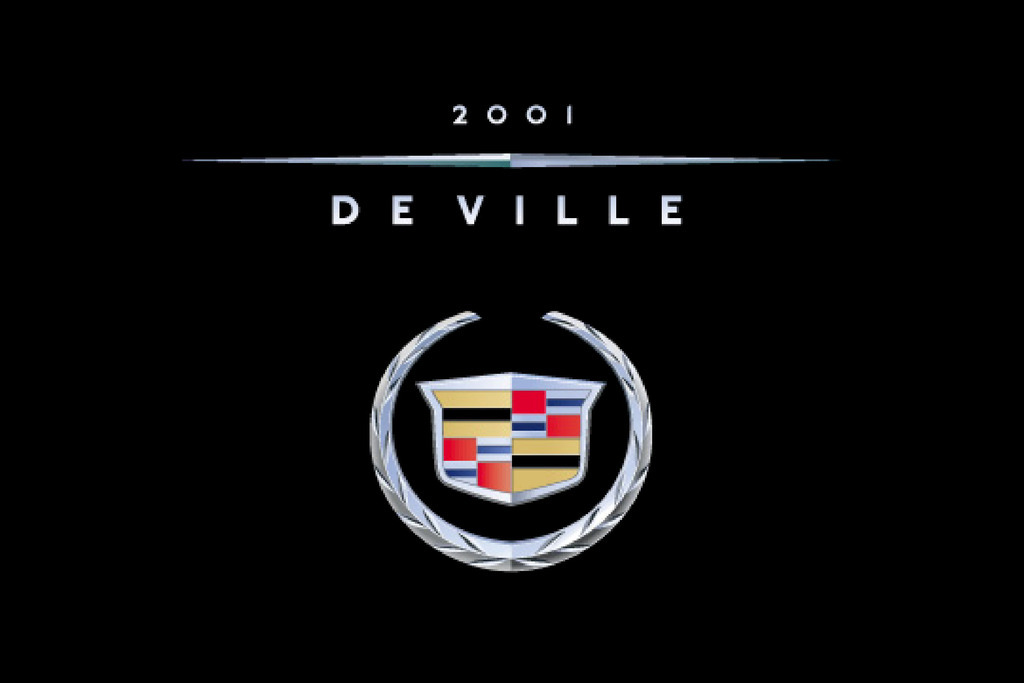 2001 Cadillac Deville owners manual