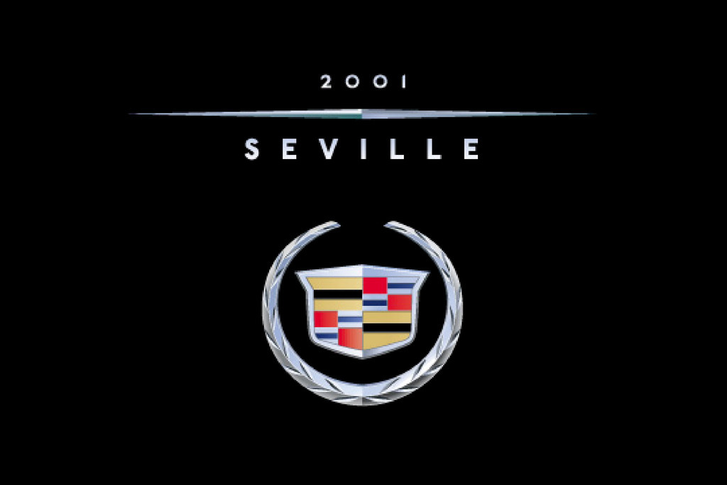 2001 Cadillac Seville owners manual