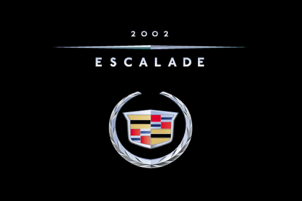 2002 Cadillac Escalade owners manual