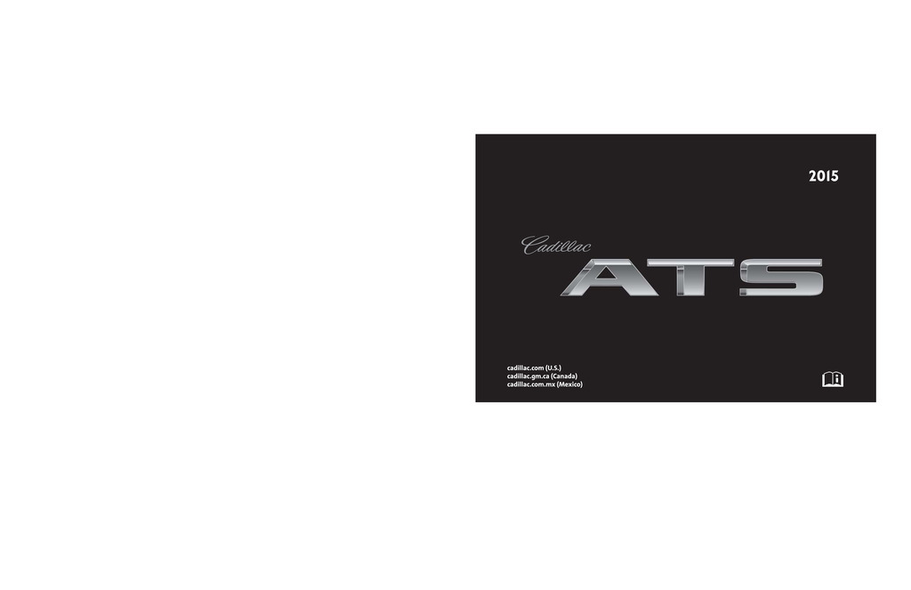 2015 Cadillac Ats owners manual
