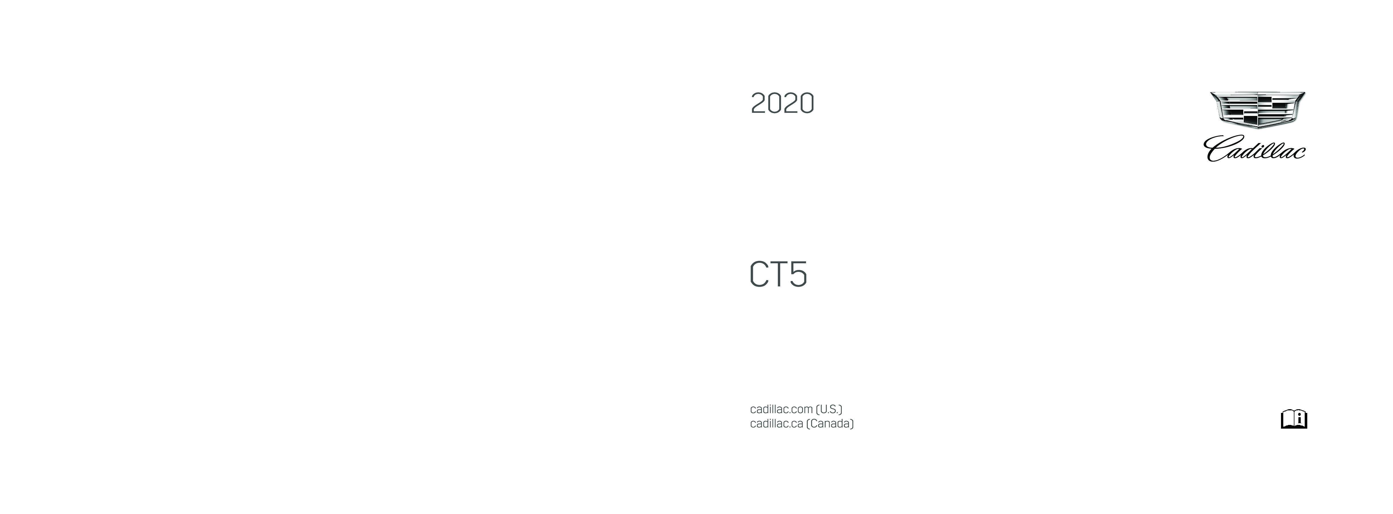 2020 Cadillac Ct5 owners manual