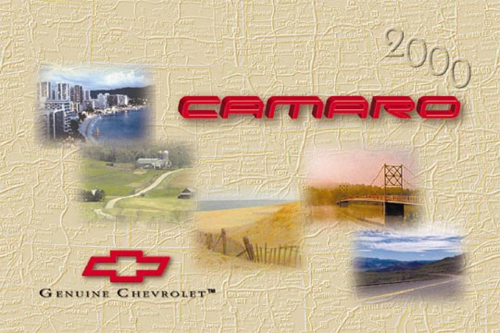 2000 Chevrolet Camaro owners manual