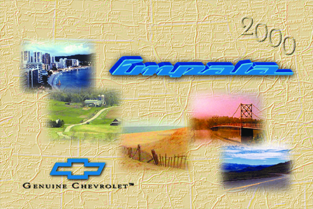 2000 Chevrolet Impala owners manual