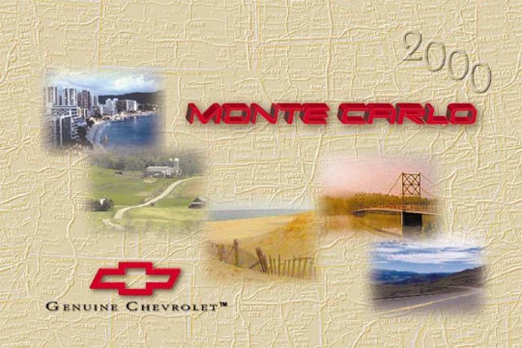 2000 Chevrolet Monte Carlo owners manual