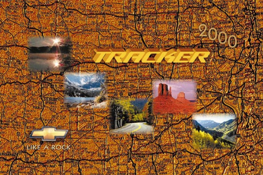 2000 Chevrolet Tracker owners manual