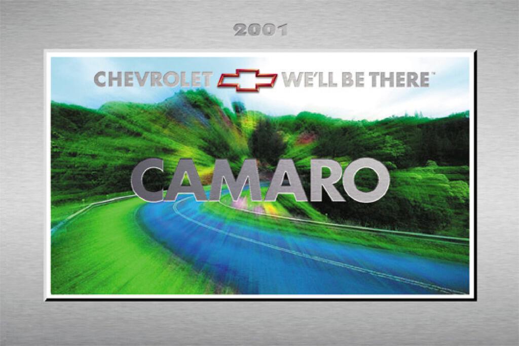 2001 Chevrolet Camaro owners manual