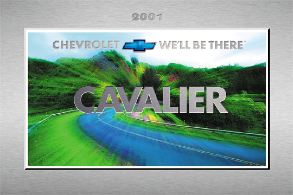 2001 Chevrolet Cavalier owners manual