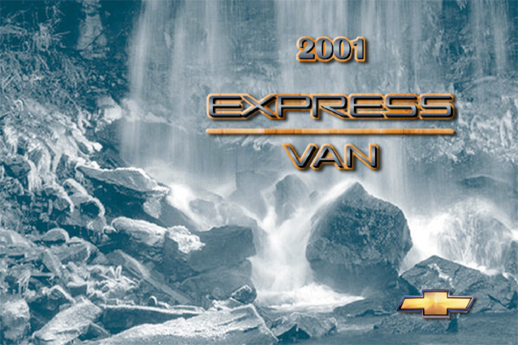 2001 Chevrolet Express owners manual