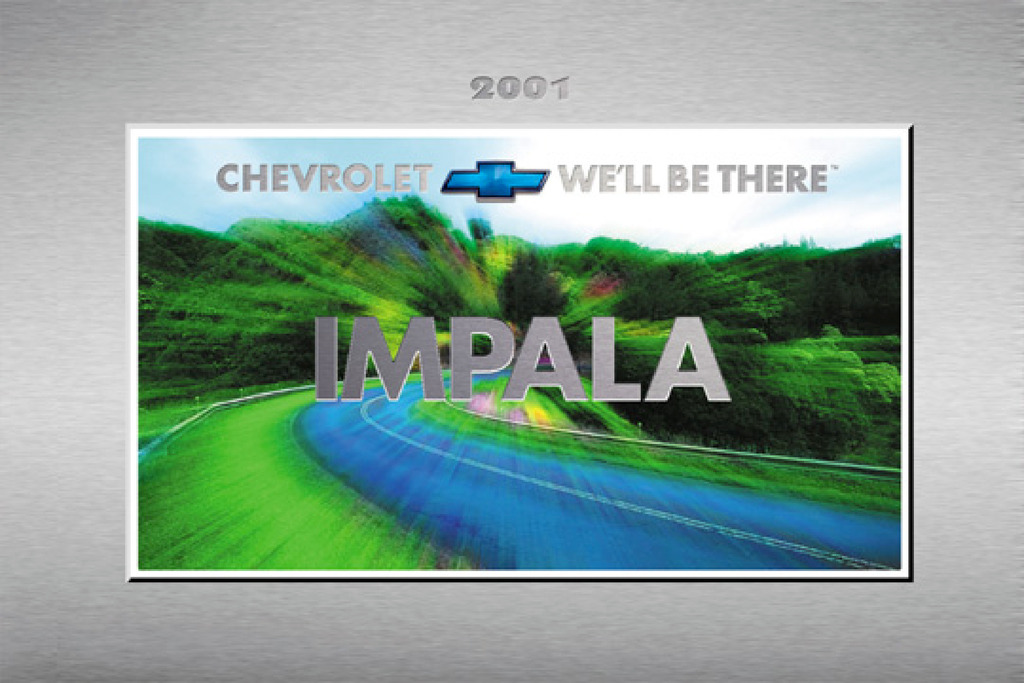 2001 Chevrolet Impala owners manual