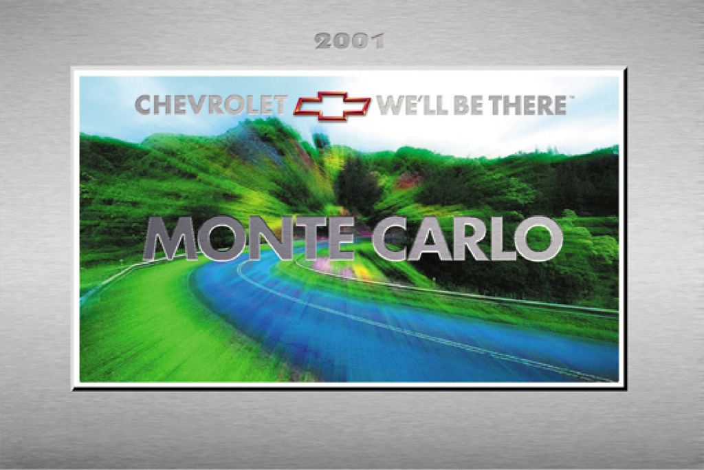 2001 Chevrolet Monte Carlo owners manual