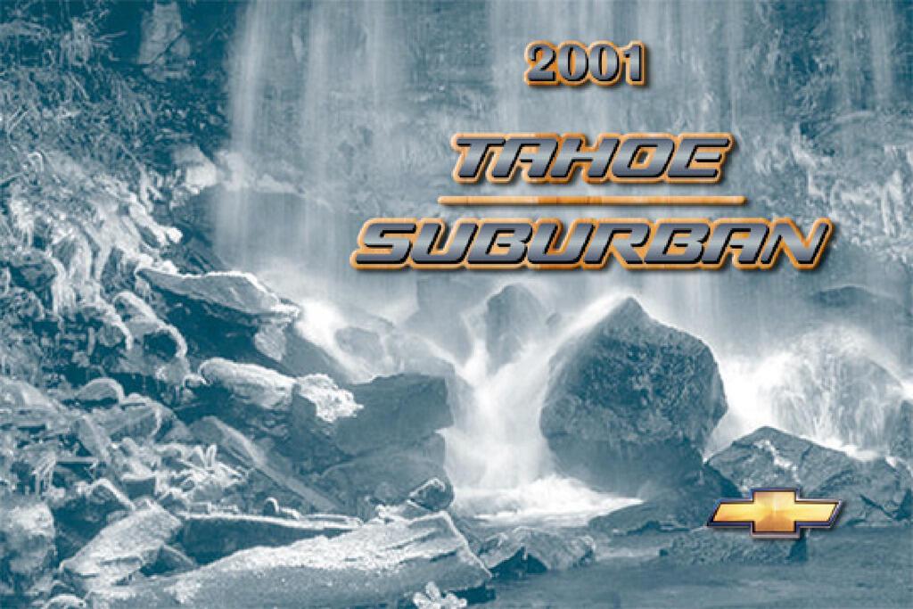 2001 Chevrolet Suburban owners manual