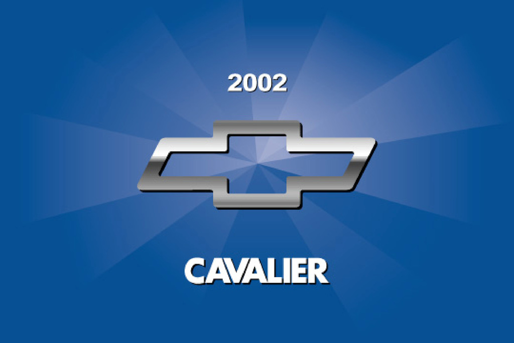 2002 Chevrolet Cavalier owners manual