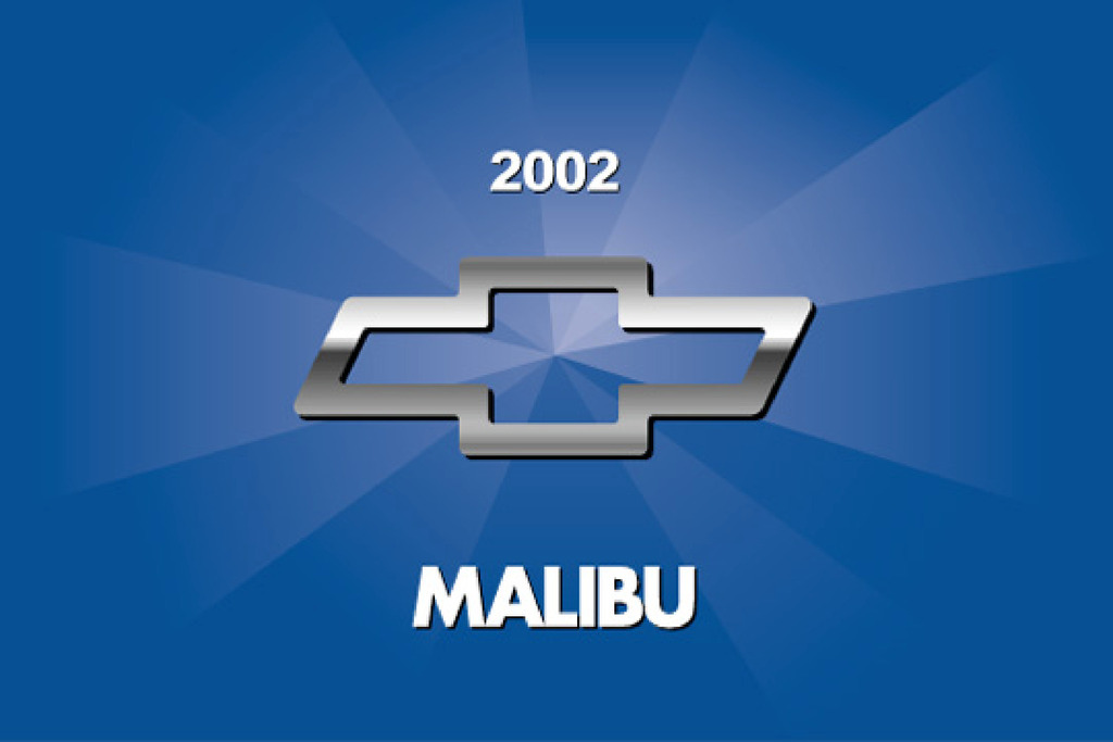 2002 Chevrolet Malibu owners manual