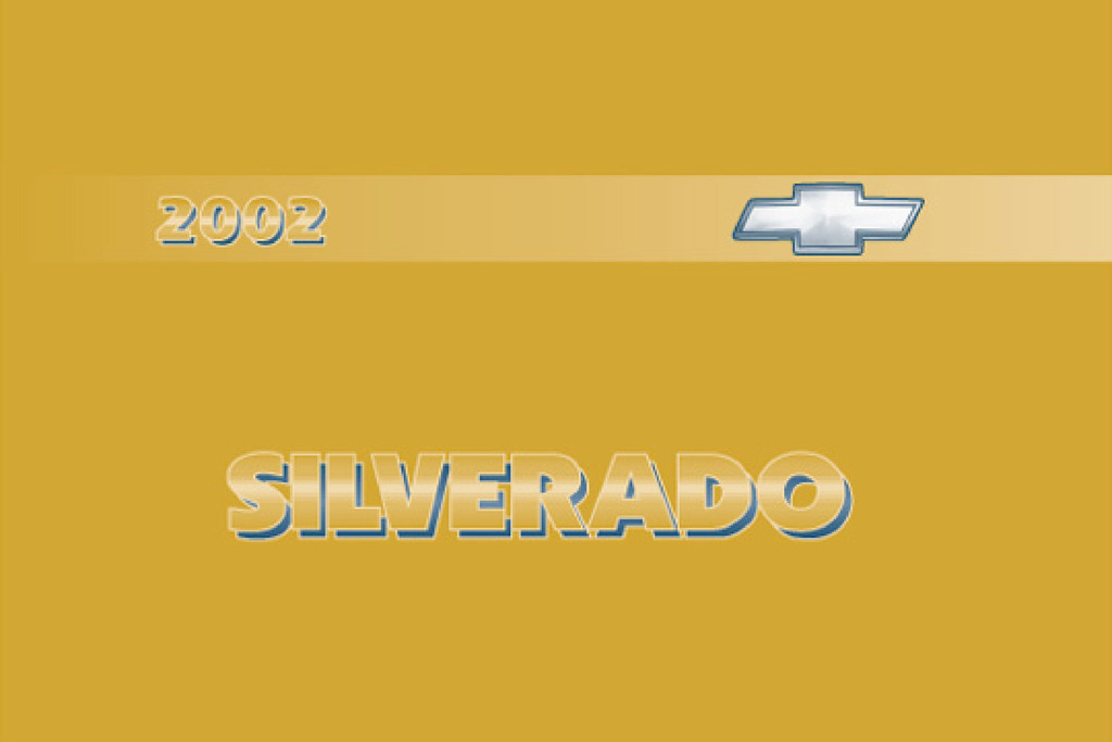 2002 Chevrolet Silverado owners manual