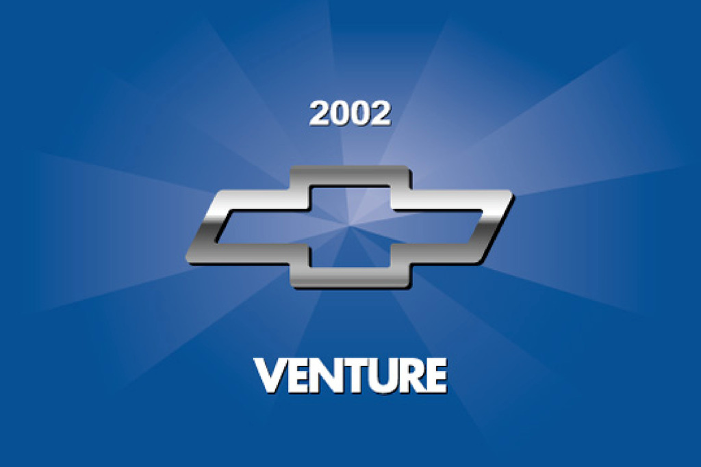 2002 Chevrolet Venture owners manual
