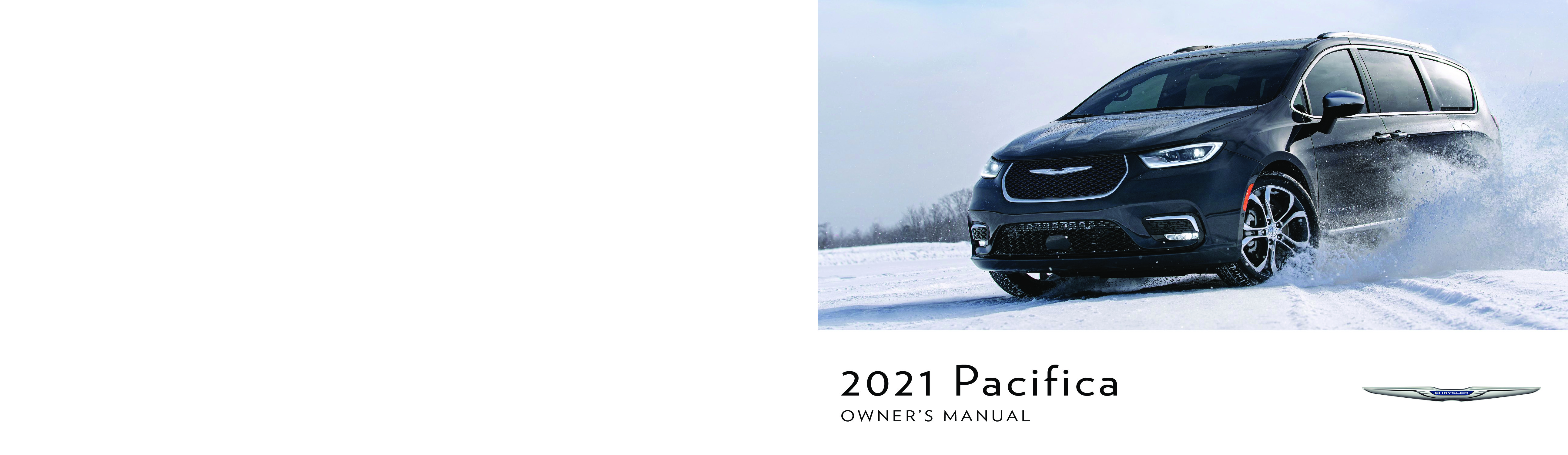 2021 Chrysler Pacifica Hybrid owners manual