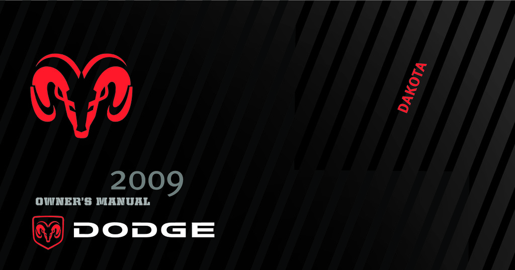 2009 Dodge Dakota owners manual