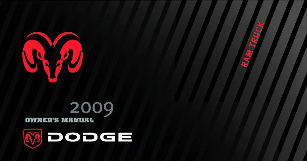 2009 RAM 2500 3500 owners manual