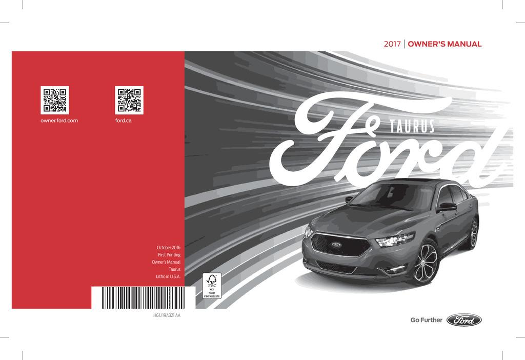 ford taurus owners manual ownersmancom