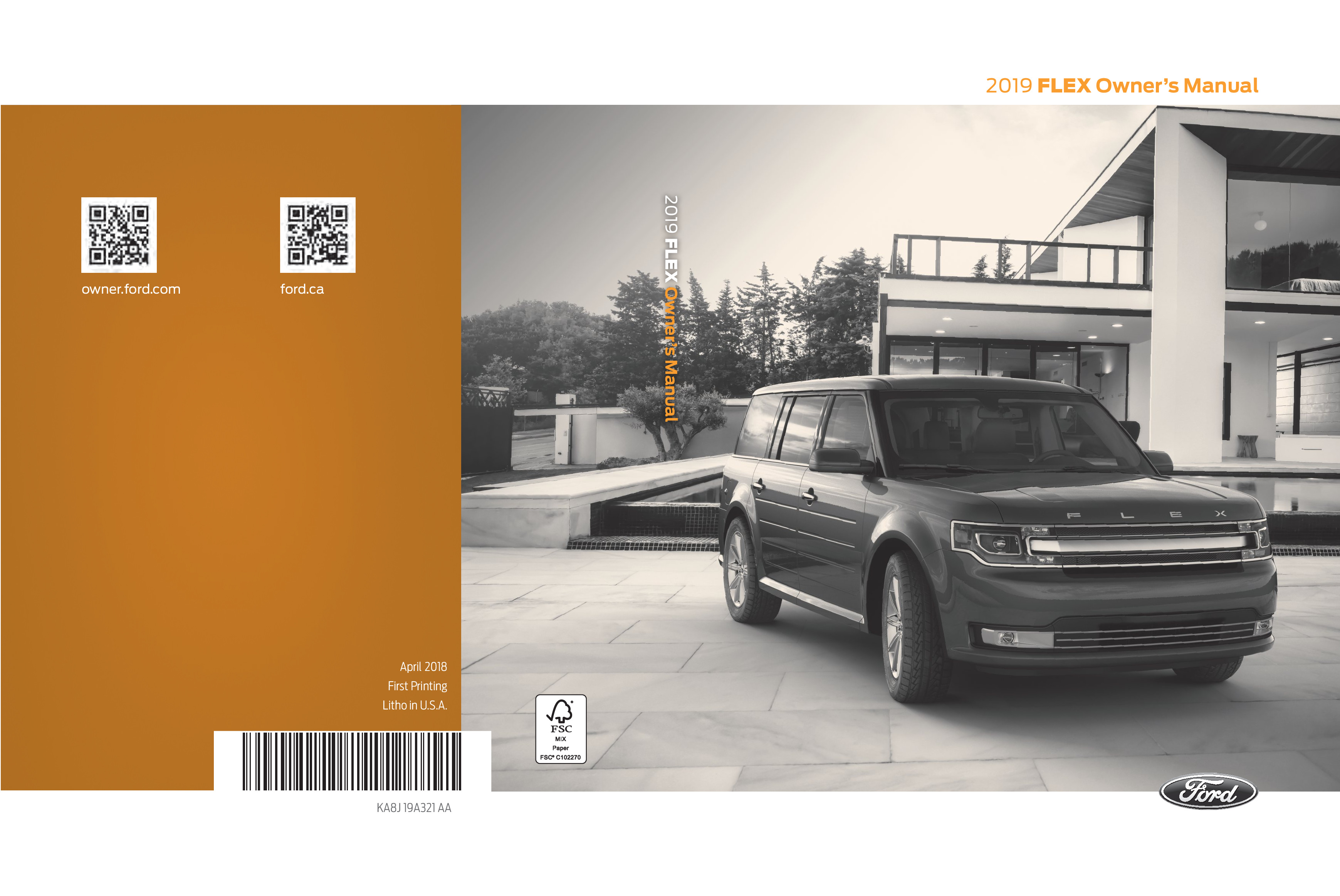 2019 Ford Flex owners manual
