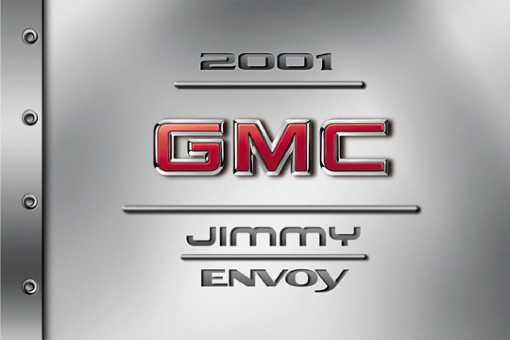 2001 GMC Envoy owners manual