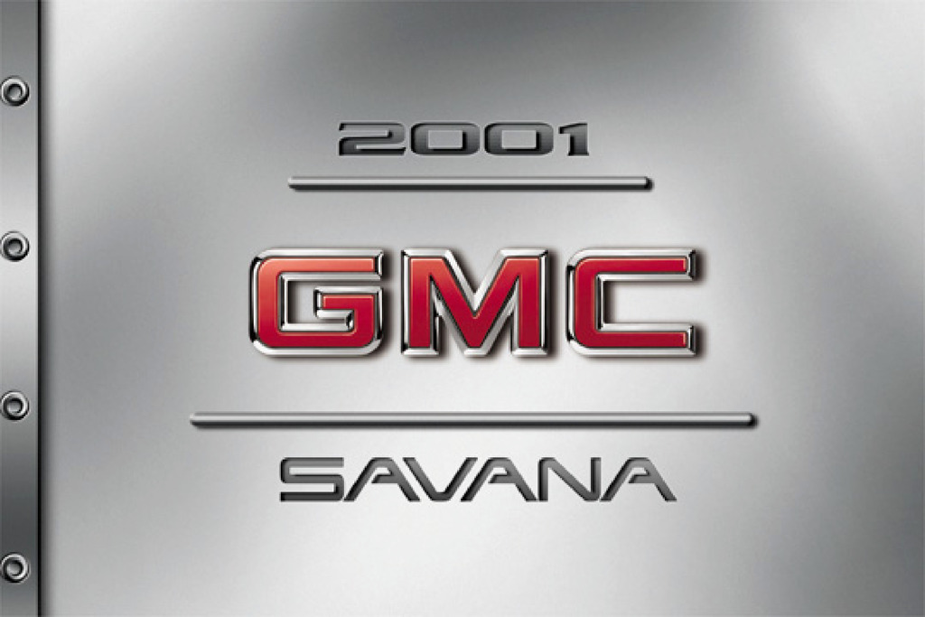 2001 GMC Savana owners manual