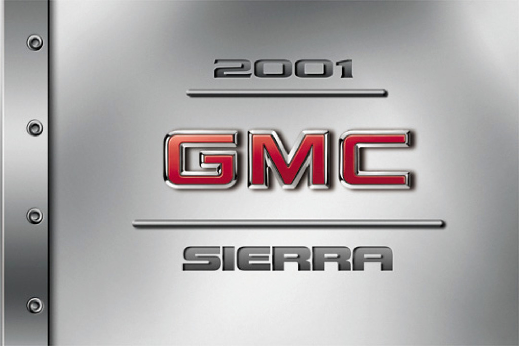 2001 GMC Sierra owners manual