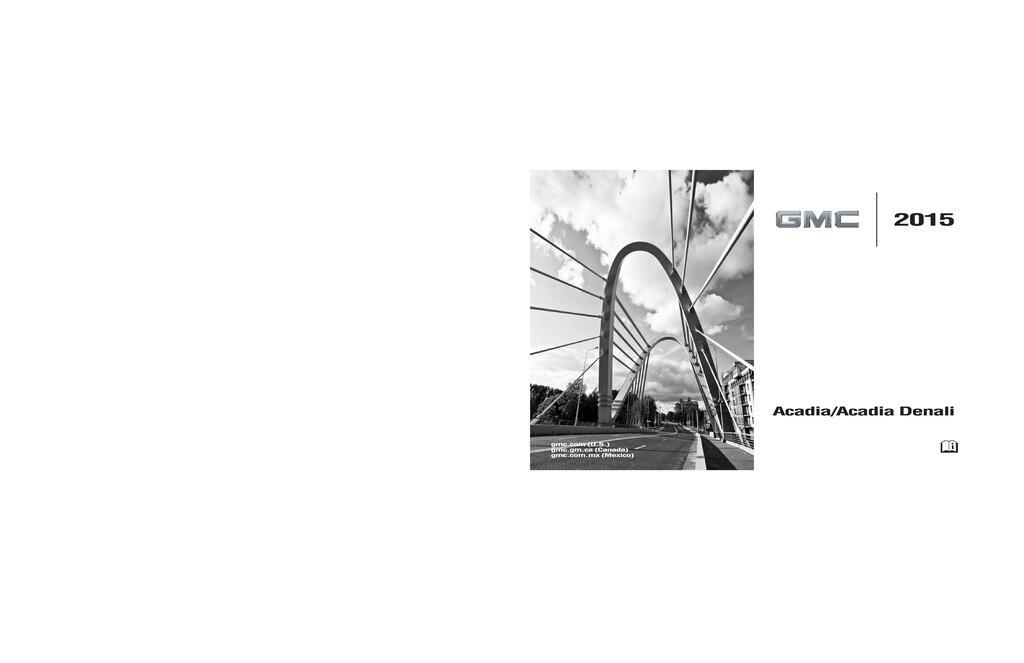 2015 GMC Acadia owners manual