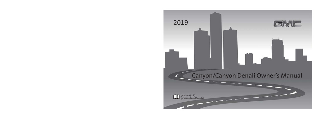 2019 GMC Canyon owners manual