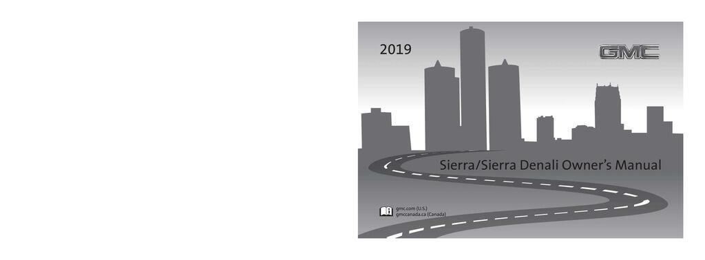 2019 GMC Sierra owners manual
