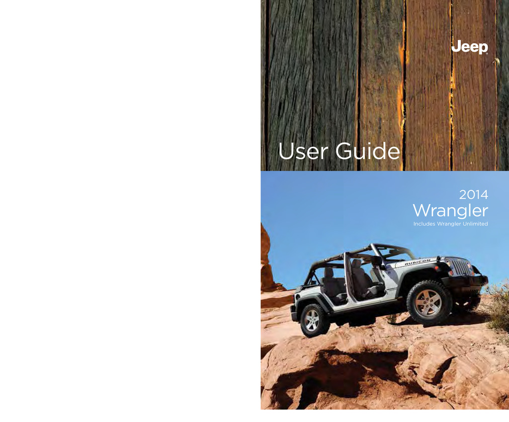 2014 Jeep Wrangler Unlimited owners manual
