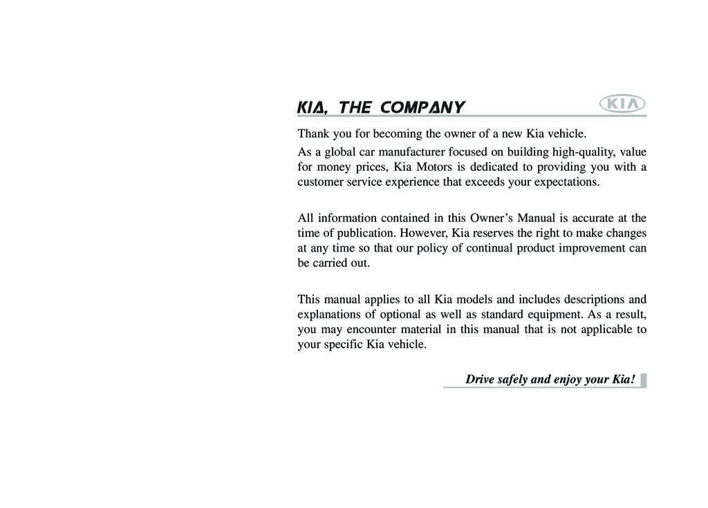 2011 Kia Soul owners manual