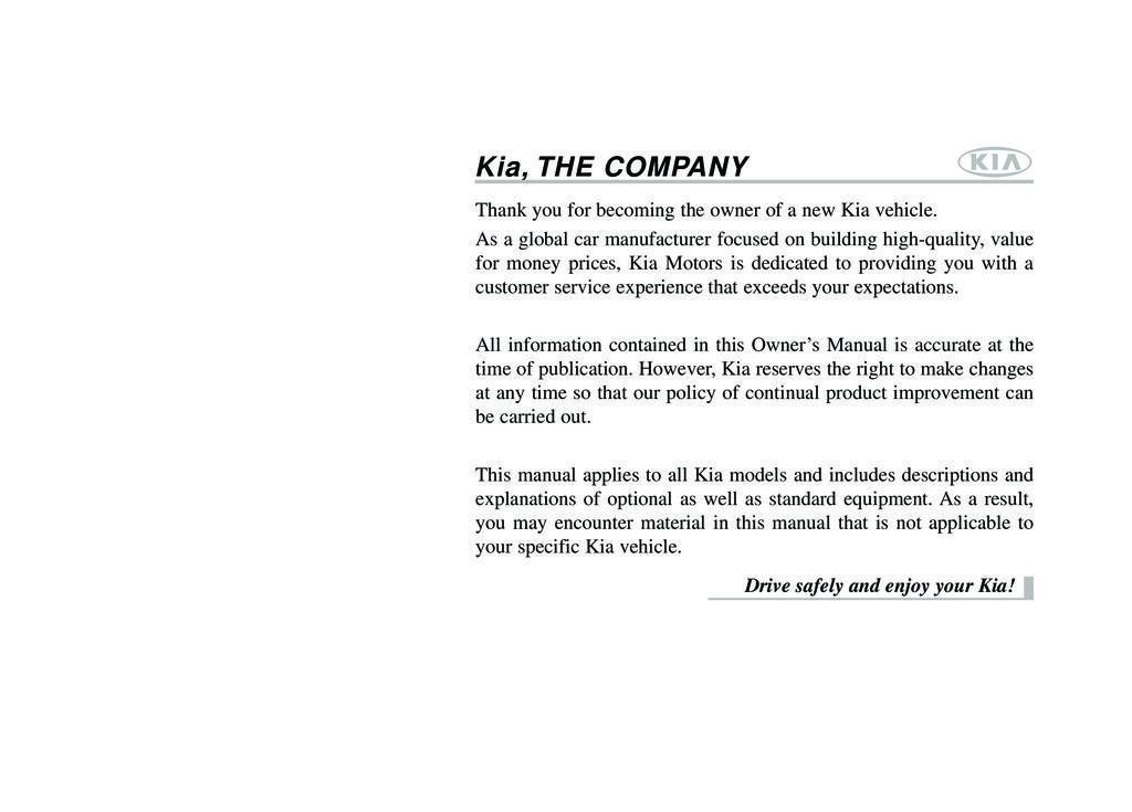 2014 Kia Sedona owners manual