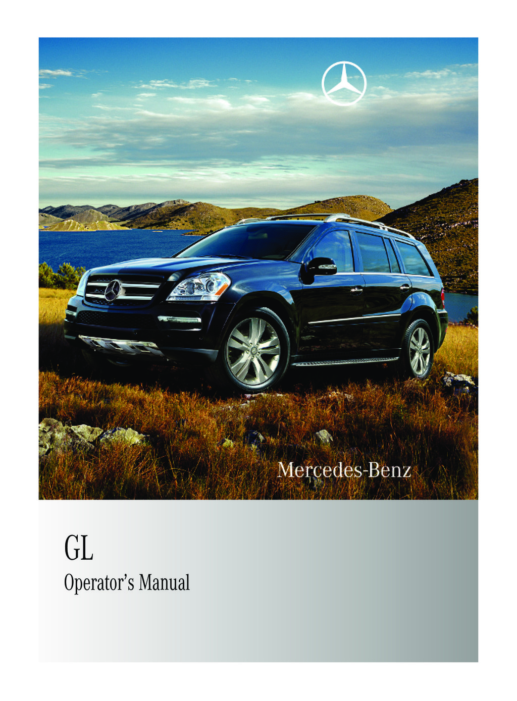 2010 Mercedes-Benz GL owners manual