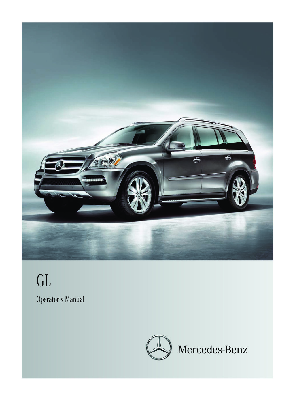 2012 Mercedes-Benz GL owners manual