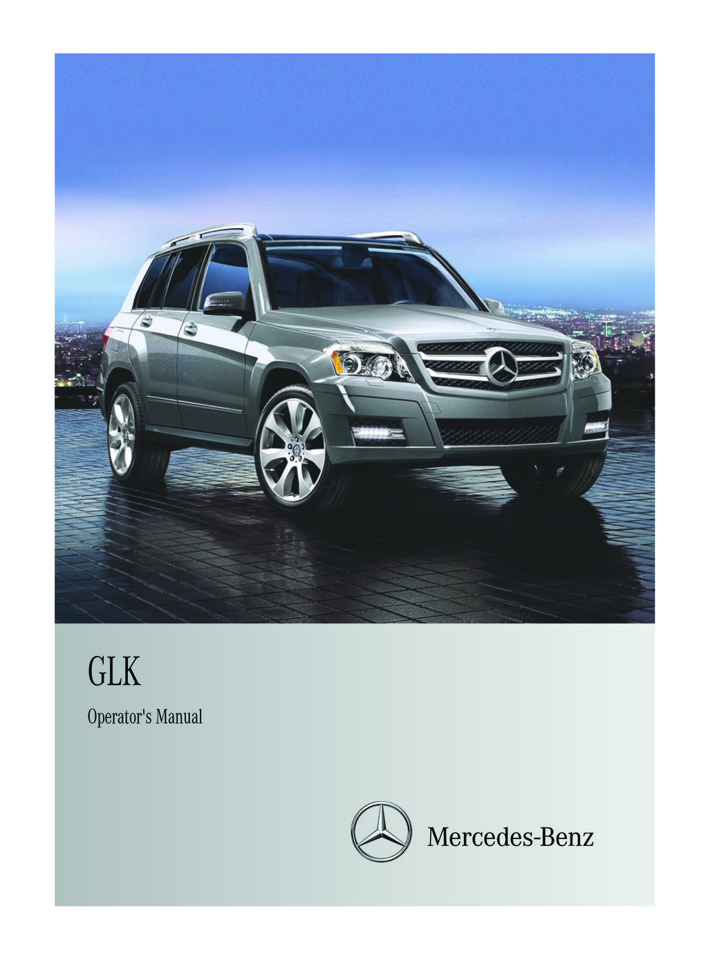 2012 Mercedes-Benz GLK Class owners manual