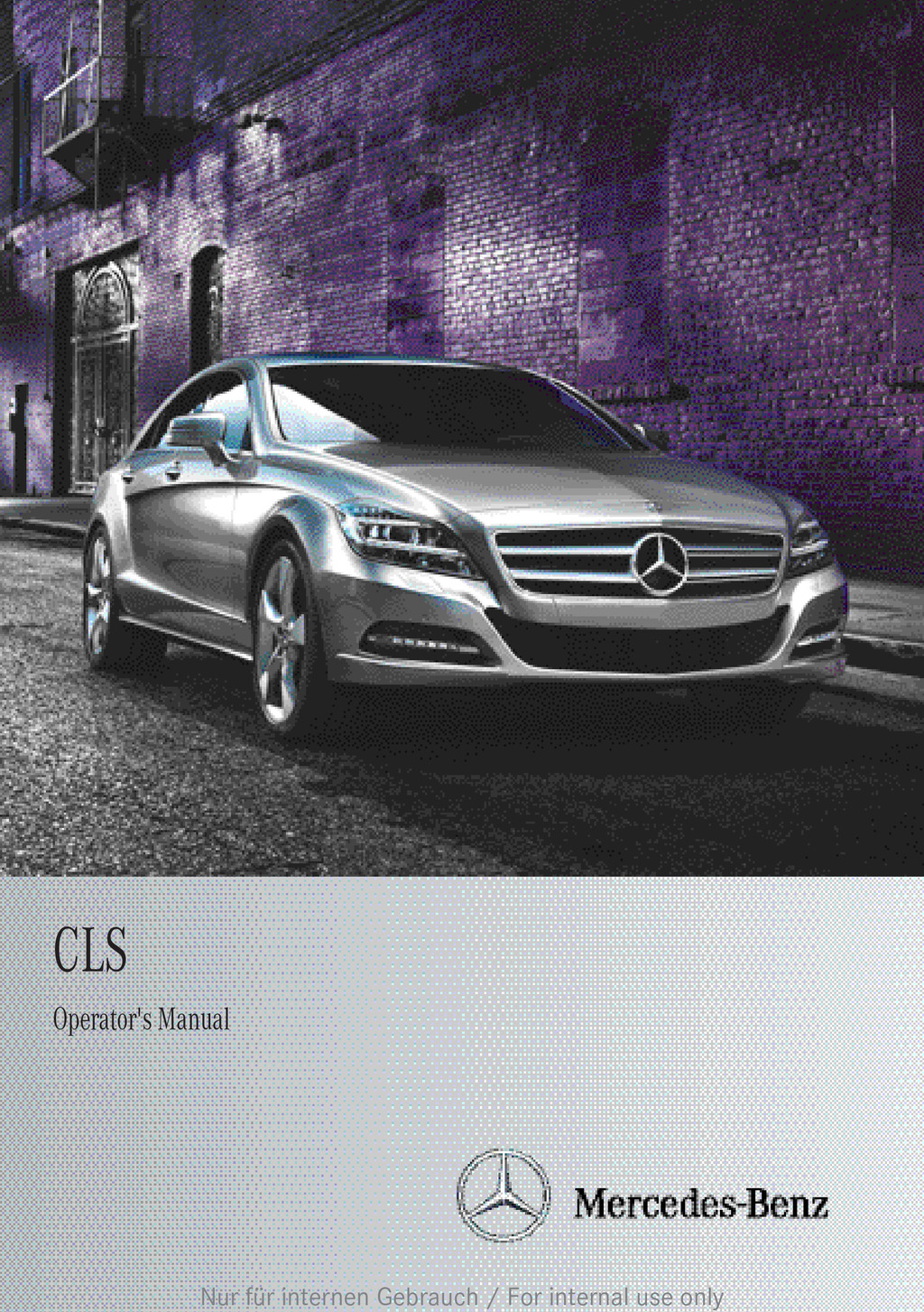 2013 Mercedes-Benz C Class owners manual