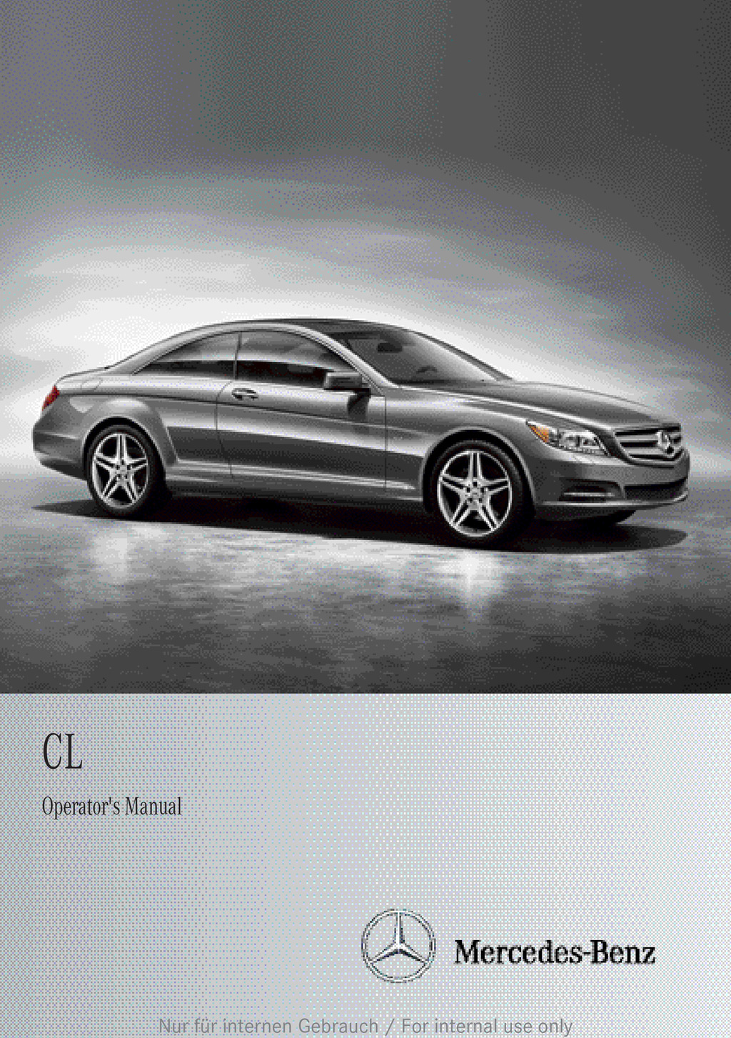 2013 Mercedes-Benz CL Class owners manual
