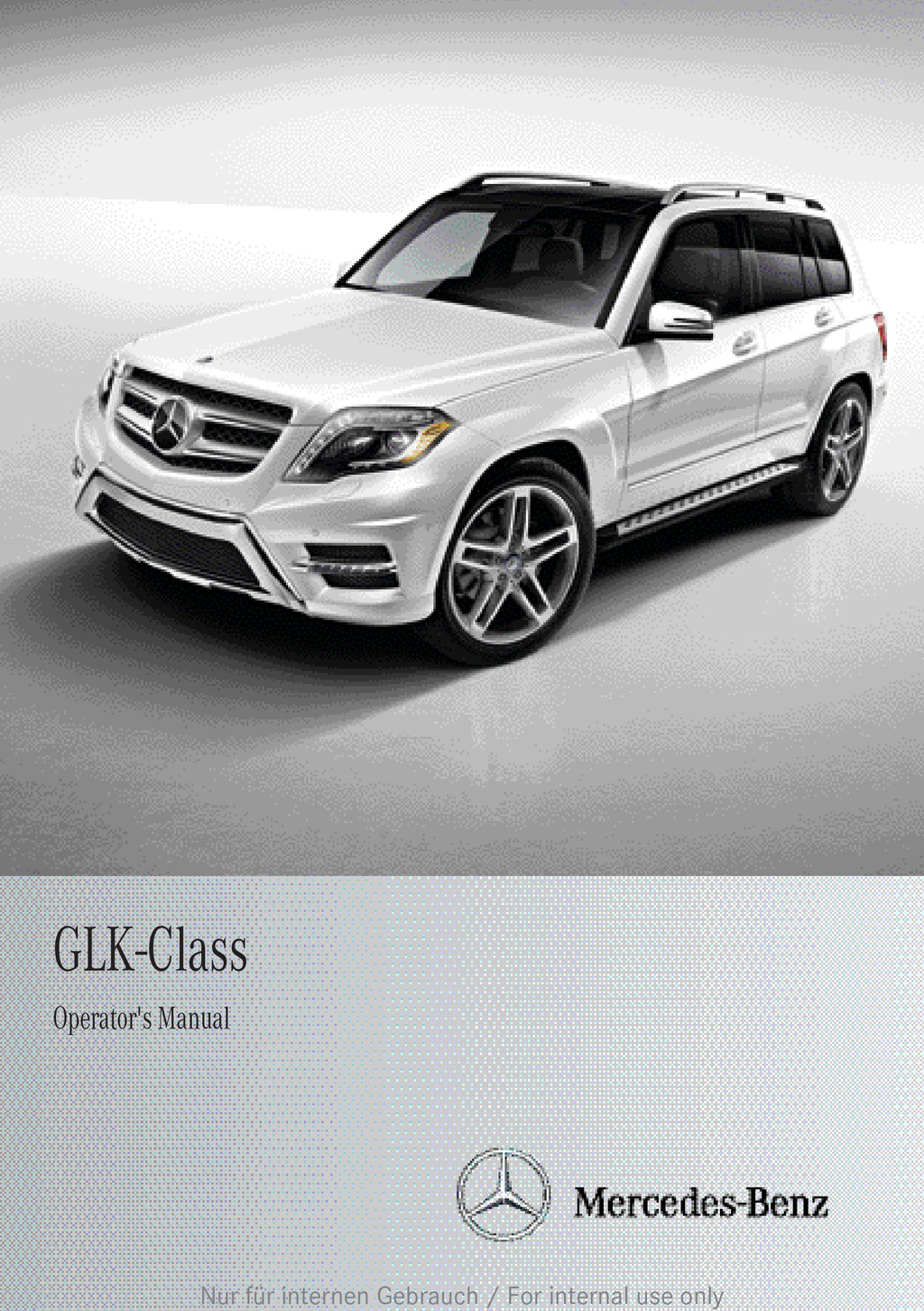 2014 Mercedes-Benz GLK Class owners manual