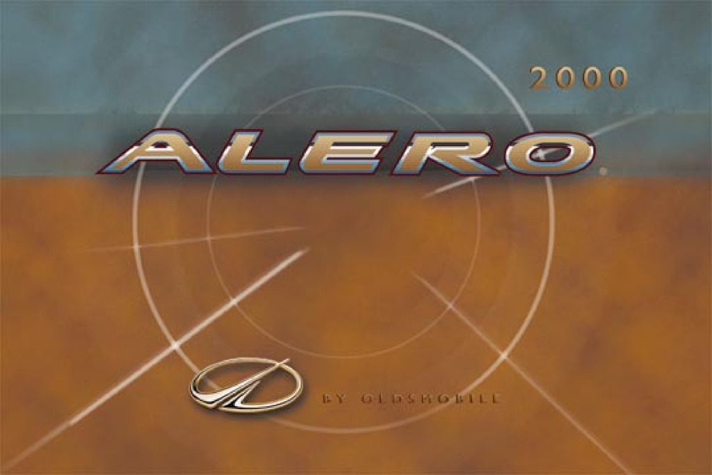 2000 Oldsmobile Alero owners manual