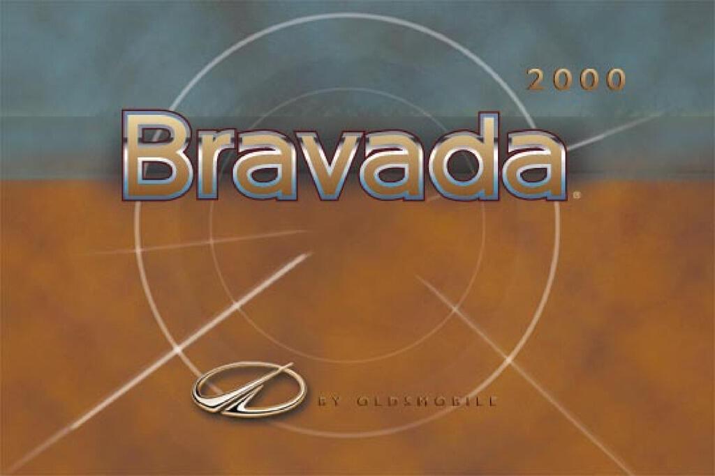 2000 Oldsmobile Bravada owners manual
