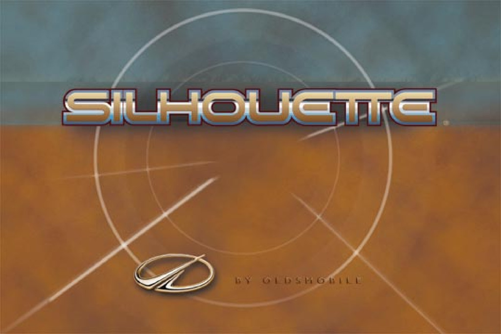 2000 Oldsmobile Silhouette owners manual