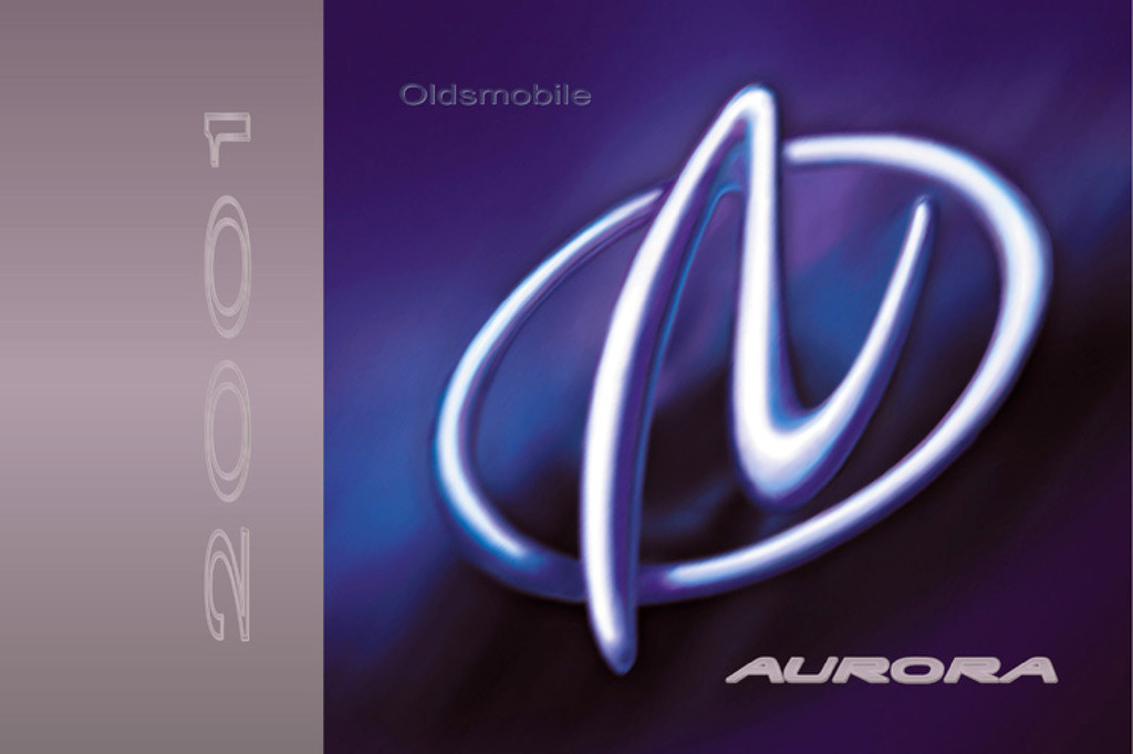 2001 Oldsmobile Aurora owners manual