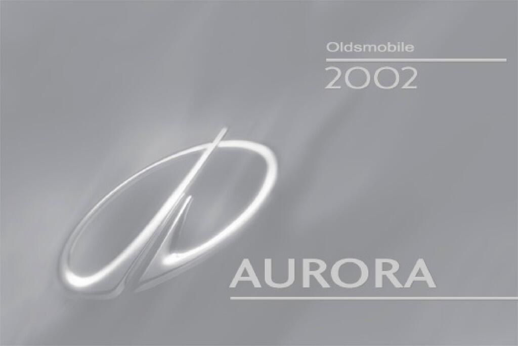 2002 Oldsmobile Aurora owners manual