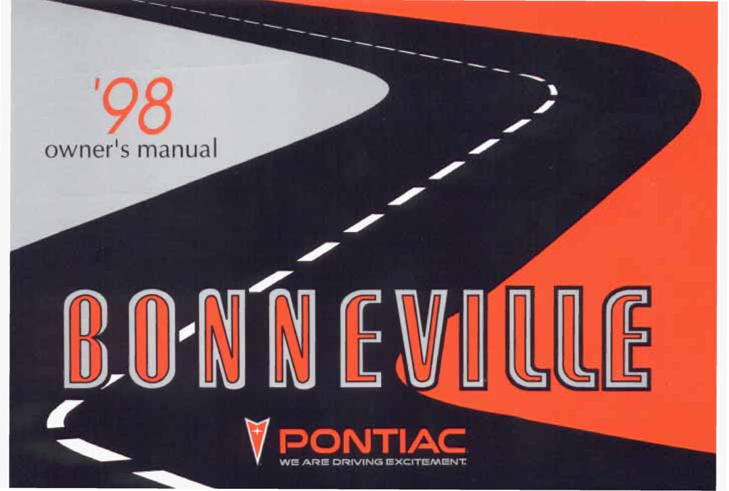 1998 Pontiac Bonneville owners manual